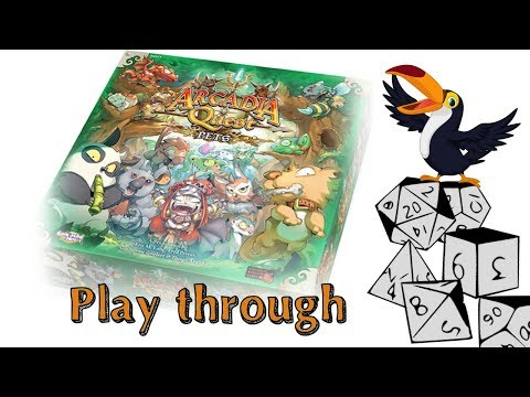 Arcadia Quest Pets Play through
