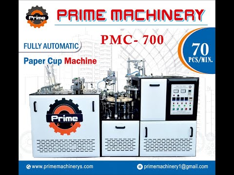 High Speed Open Cam Paper Cup Machine PMC-1000