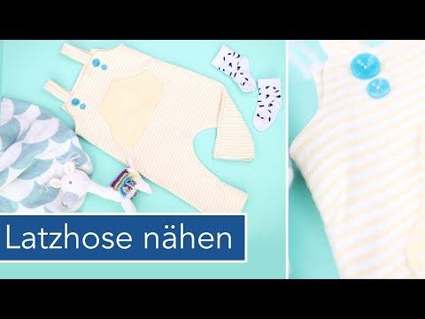 Latzhose für Babys nähen | Little Darling Schnittmuster