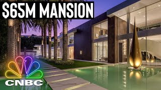 Inside A $65M Mansion With The Longest Pool In All Of Bel Air | Secret Lives Of The Super Rich