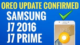 J7 Prime Update Oreo