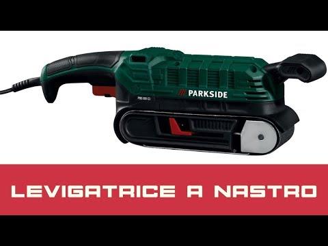 Levigatrice a Nastro Parkside - La Recensione