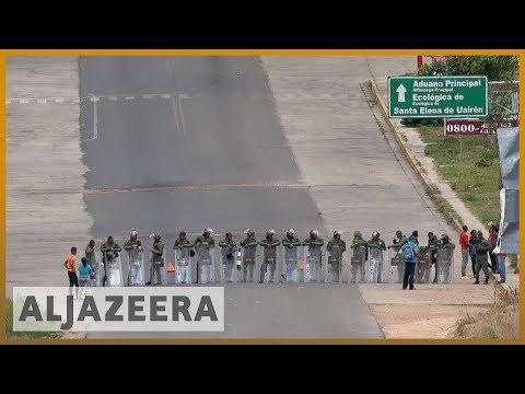 🇻🇪 Venezuela closes Colombia border as aid dispute turns deadly l Al Jazeera English