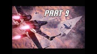 STAR WARS BATTLEFRONT 2 Walkthrough Part 9 - Battle of Jakku (PC Let's Play Commentary)