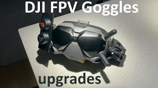 DJI FPV Googles antenna upgrades and unboxing