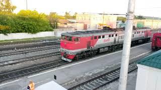 Прицепка локомотива в Ряжске