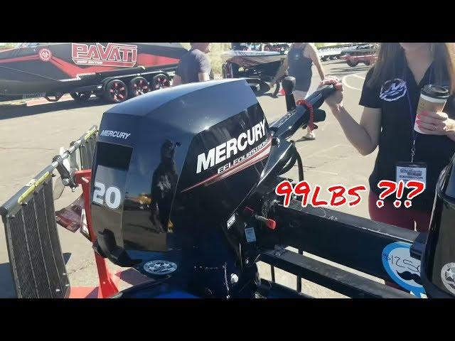 Mercury Outboard Motor Review   Fallon Marine   Lake Havasu Boat Show
