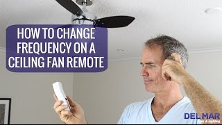 Hunter state street ceiling fan with remote review not great most how to change the frequency on a ceiling fan remote aloadofball Gallery
