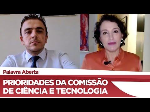 Aliel Machado aponta desafios e prioridades da Comissão de Ciência e Tecnologia - 25/03/21