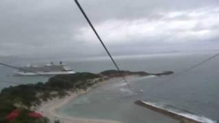 preview picture of video 'Haiti zipline'