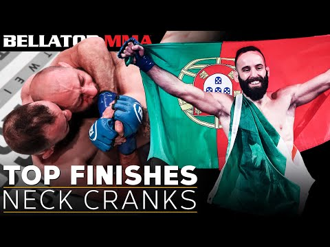 Top Finishes: Neck Cranks l BELLATOR MMA