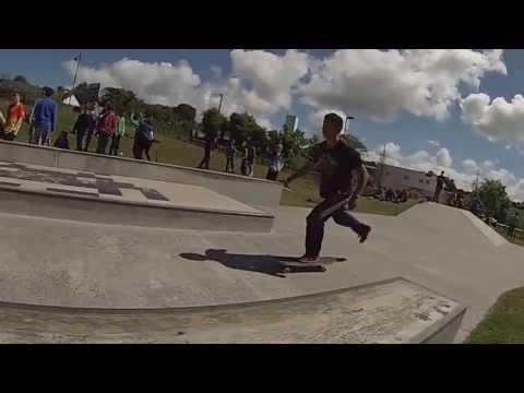 Skate/Scooter Competition at Westport Skatepark