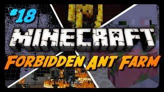 Forbidden Ant Farm Survival - Ep. 18 - FORBIDDEN PICKAXE!