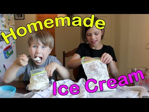 Video How to Make Homemade Ice Cream using Plastic Bags