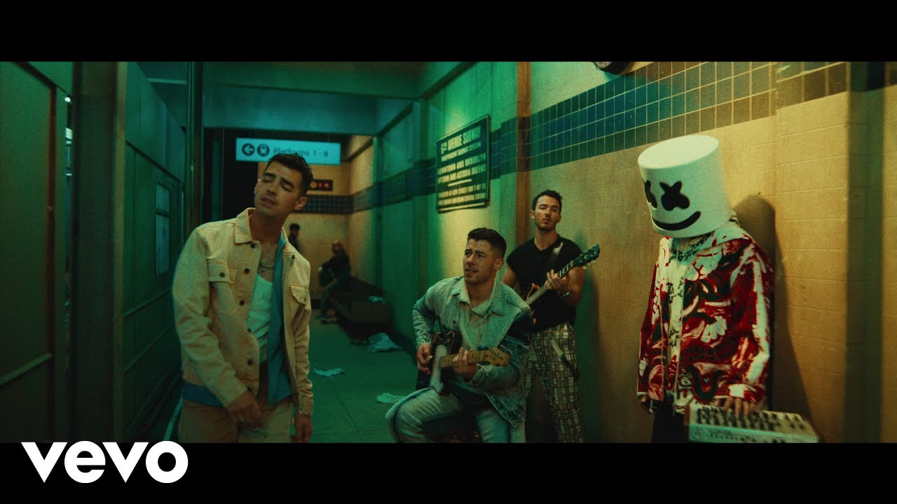 Marshmello x Jonas Brothers — Leave Before You Love Me