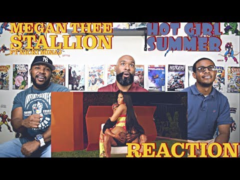 Megan Thee Stallion ft Nicki Minaj - Hot Girl Summer Reaction