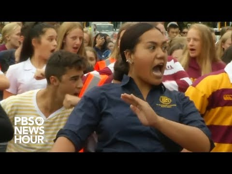 New Zealand students honor shooting victims with haka dances
