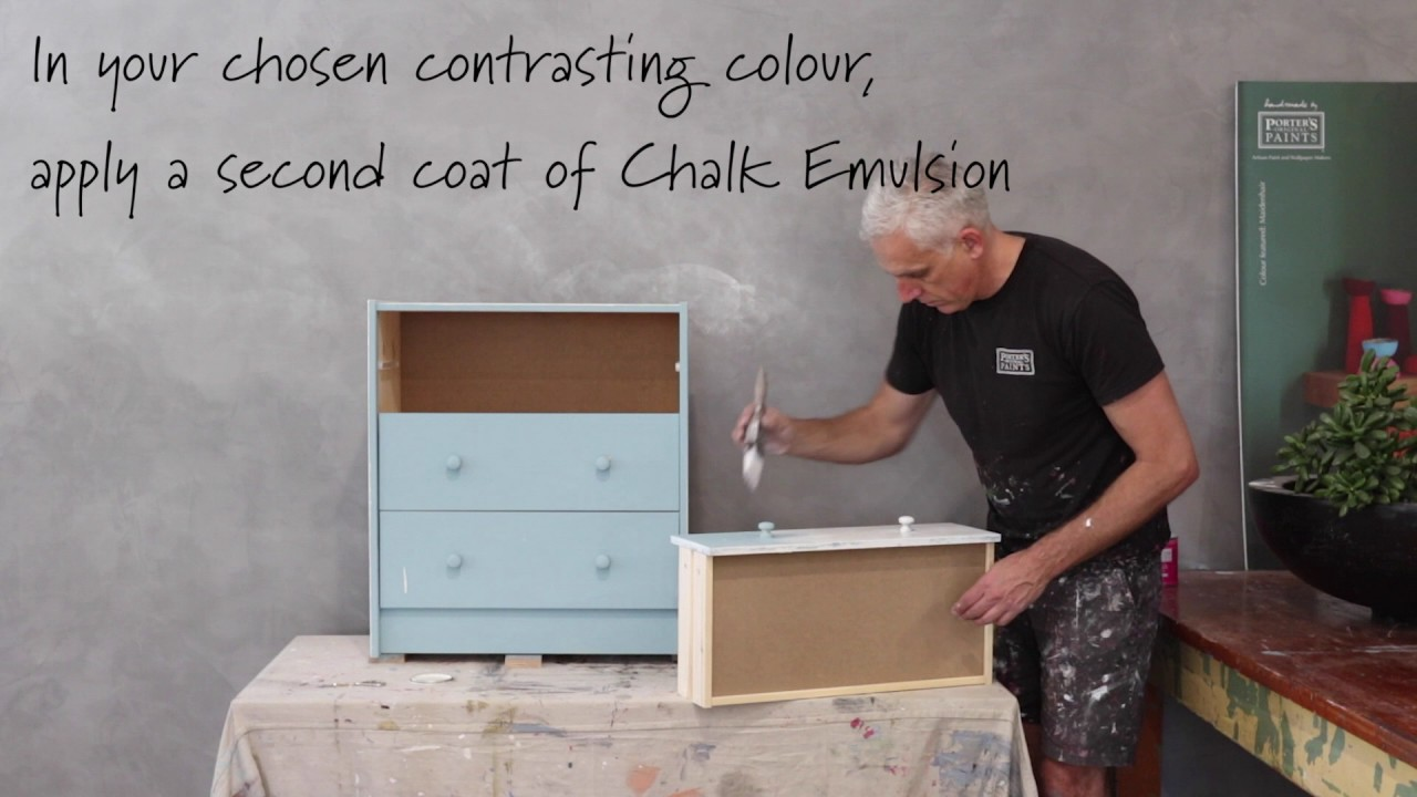 Transform your Furniture with Chalk Emulsion