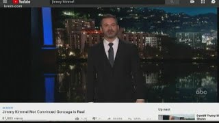 Student makes petition to bring Jimmy Kimmel to Gonzaga
