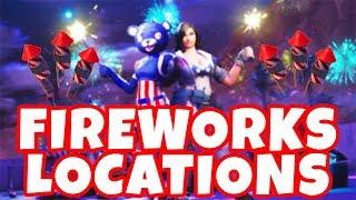 Fortnite Fireworks Locations 免费在线视频最佳电影电视节目 Viveos Net