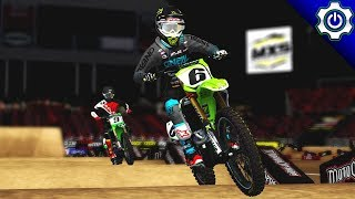 MX Simulator - 2018 MotoOption SX Round 8 - Tampa