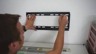 איך לתלות טלוויזיה על קיר בלוקים או על קיר גבס.