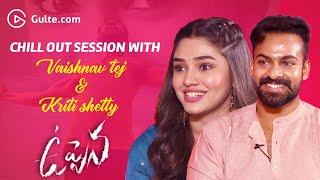 Uppena Hero Vaishnav Tej & Heroine Krithi Shetty Interview Rapid-fire