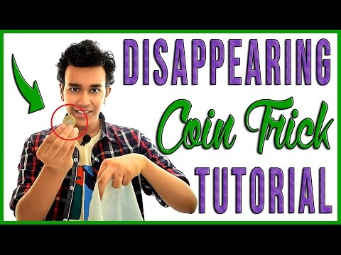 Disappearing Coin Trick