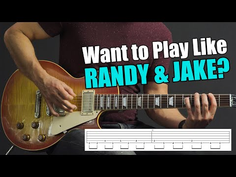 Top 5 Classic Ozzy Licks That You Can Play TODAY (Randy Rhoads & Jake E. Lee)