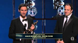 """Searching for Sugar Man"" winning Best Documentary Feature"