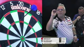LIVE DARTS! Wright v Durrant   PDC Summer Series Day One   Quarter-Final