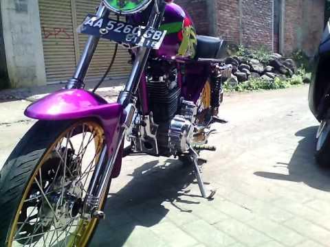 Video Modifikasi Motor Honda CB 100 1994 ( Airbrush / Thailook Style / Modif Apa Ini ? ) modif Cb Terbaru