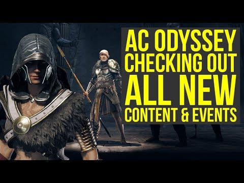 Assassin's Creed Odyssey DLC - Checking Out All The New Stuff (Weekly Reset July 23)
