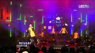 PSY - Right now @ SBS Inkigayo 인기가요 101031