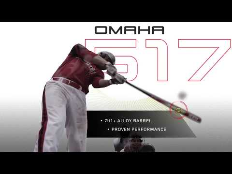 2017 Louisville Slugger Omaha 517 Junior Big Barrel Baseball Bat: YBO517X