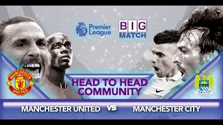 Head To Head Community Manchester United Vs Manchester City