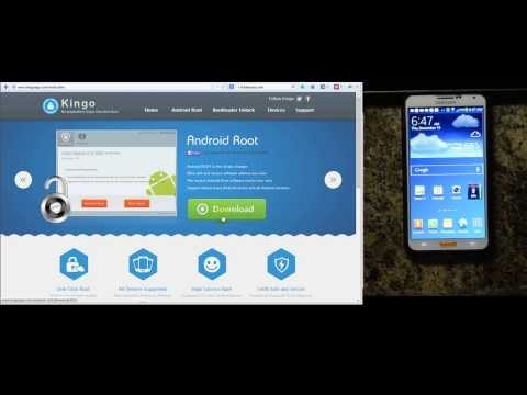 Root AT&T Samsung Galaxy Note 3 - Kingo Root Demonstration Mp3