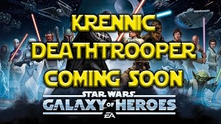 Star Wars: Galaxy Of Heroes - Krennic And Deathtrooper Coming Soon