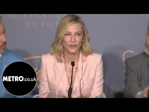 Cate blanchett shuts down sexist reporter at cannes   metro co uk