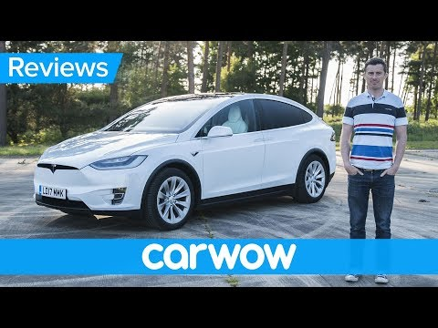 Tesla Model X 2018 Electric SUV Review | Mat Watson Review