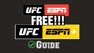 How To Watch Any UFC Fight Free On ESPN Plus