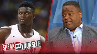 Jason Whitlock: 'There is some concern' over Zion Williamson's weight   NBA   SPEAK FOR YOURSELF