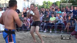 Крепкий Таджик против Здорового мужика