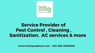 Techsquadteam Residential Cleaning Services