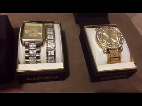 Elgin Bling watches Unboxing and Review