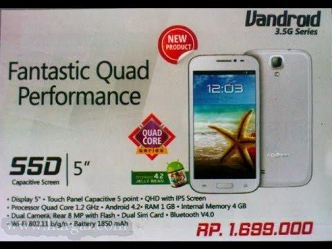 ADVAN Vandroid S5D 2014 Harga, Spesifikasi, Gambar Terbaru 2013