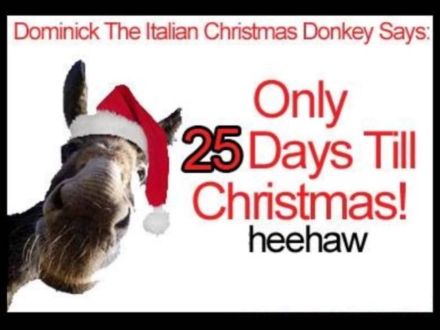 dominick the italian christmas donkey - Dominic The Christmas Donkey