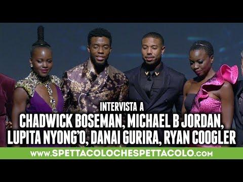 BLACK PANTHER | Chadwick Boseman, Michael B Jordan, Lupita Nyong'o, Danai Gurira, Ryan Coogler