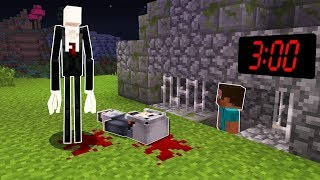 KESİNLİKLE BU SEEDE GİRMEYİN!! (Slenderman Tapınağı) Minecraft PE EN KORKUNÇ SEED