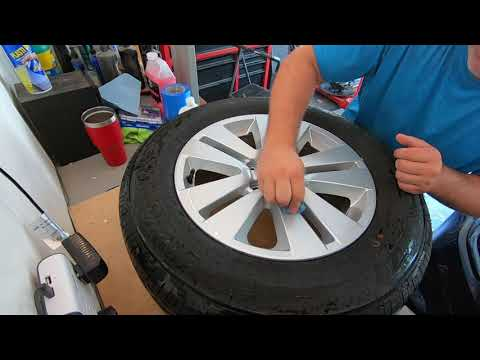 How to Plasti-Dip your Wheels - Subaru Outback Edition